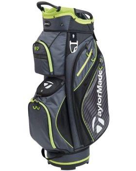 TaylorMade Pro Cart 6.0 Bag - Charcoal/ Black/ Green