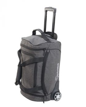 TaylorMade Classic Rolling Carry On - Grey/Black