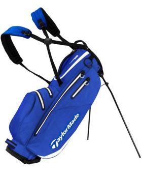 TaylorMade 2019 FlexTech Waterproof Stand Bag - Royal/White