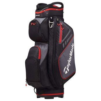 TaylorMade Select Plus Cart Bag - Black/Red