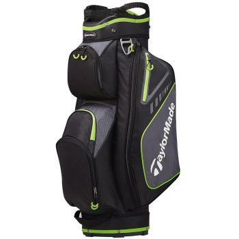 TaylorMade Select Plus Cart Bag - Black/Green