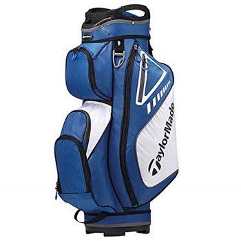 TaylorMade Select Plus Cart Bag - Blue/White