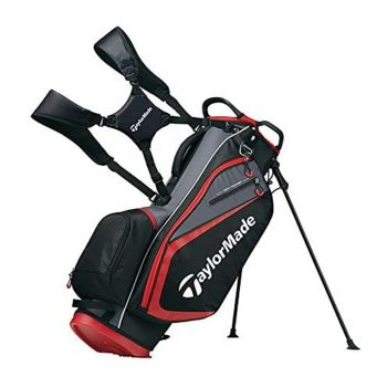 Taylormade Select Stand Bag - Black/Red