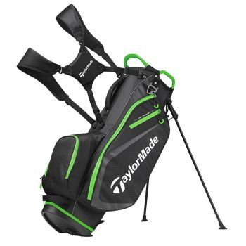 Taylormade Select Plus Stand Bag - Black/Green