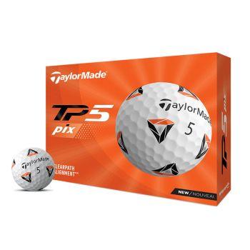 TaylorMade 2021 TP5 Pix Golf Balls