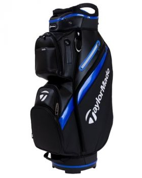 TaylorMade 18 Deluxe Cart Bag - Blue/Black