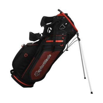 Taylormade TourLite Stand Bag - Black/White/Red