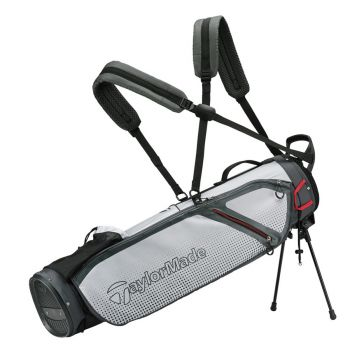 TaylorMade Quiver Carry Bag - Gray/White