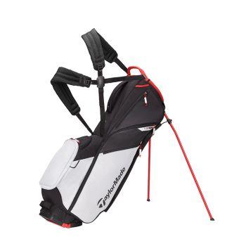 Tyalormade Flextech Lite Stand Bag - Grey Cool/Red