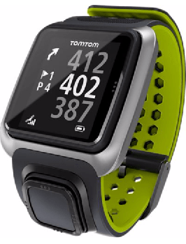 Tom Tom Golf Gps Watch - Black