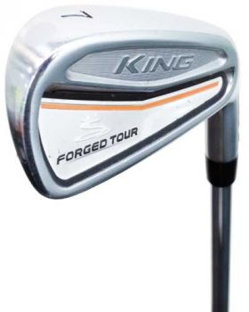 Excellent Condition Cobra King Forged Tour Iron Set 4-PW* with Amt R300 Shaft