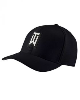 Nike TW AeroBill Classic 99 Golf Cap - Black/White
