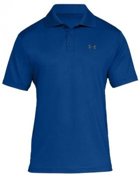 Under Armour Performance Polo - Royal/Rhino Gray