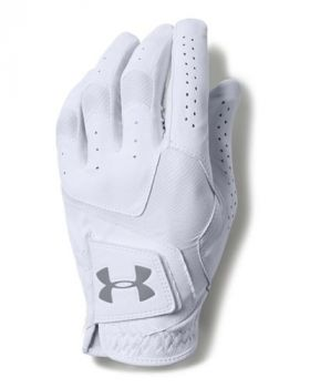 Under Armour Coolswitch Glove Left Hand - White (For the Right Handed Golfer)