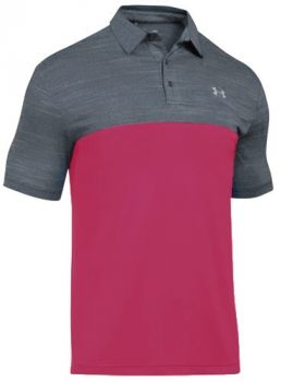 Under Armour Playoff Blocked Polo - Hollywood
