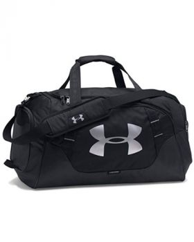 Under Armour Undeniable 3.0 Small Duffle Bag - Black/Silver
