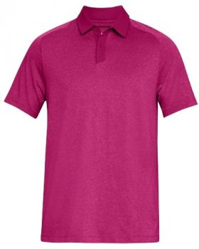 Under Armour Threadborne Polo - Tropic Pink
