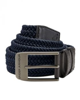 Under Armour Braided 2.0 Belt - Academy/Charcoal