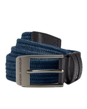 Under Armour Braided 2.0 Belt - Static Blue/Rhino Gray