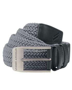 Under Armour Braided 2.0 Belt -  Zinc Gray
