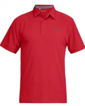 Under Armour Playoff Vented Woven Polo - Pierce