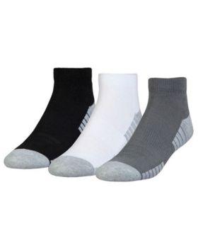 Under Armour Heatgear Tech Low Cut Socks - Graphite/Assorted