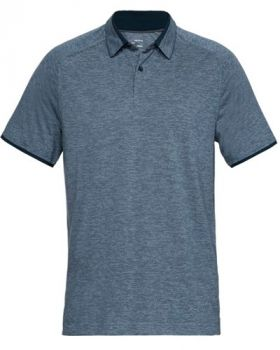 Under Armour Tour Tips Polo - Academy/Pitch Gray