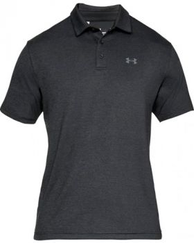 Under Armour Playoff 2.0 Polo - Black/Pitch Gray