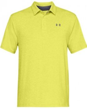 Under Armour Playoff 2.0 Polo - Lima Bean/High Vis Yellow/Pitch Gray