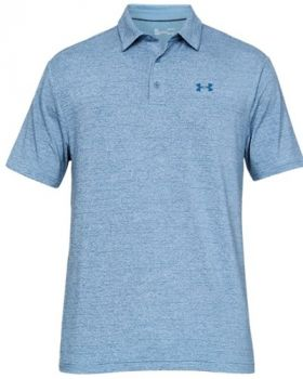 Under Armour Playoff 2.0 Polo - Thunder/Petrol Blue/Pitch Gray