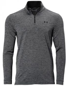 Under Armour Playoff 2.0 1/4 Zip Long Sleeve - Pitch Gray/Jet Gray