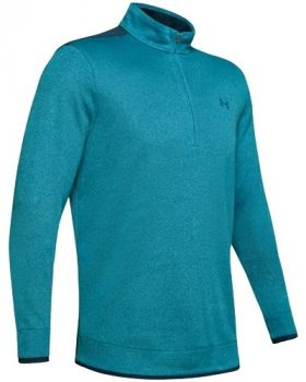 Under Armor SweaterFleece ½ Zip - Teal Vibe/Tandem Teal