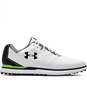 Under Armour Showdown SL Golf Shoes - White/Black
