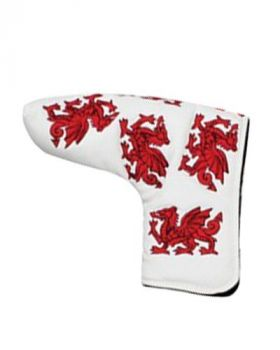 MASTERS HEADKASE FLAG PUTTER COVER - WALES