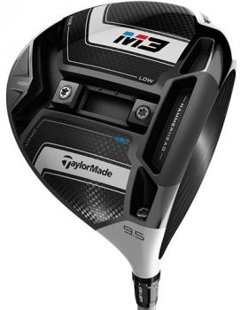 TaylorMade M3 460 9.5* Driver with MCA Blue Stiff Flex Shaft - Left Hand