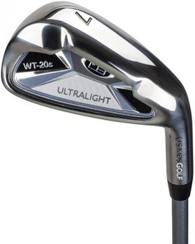 US Kids UL48-S 8 Iron with Graphite Shaft