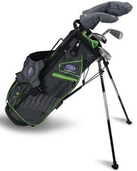 US Kids 2020 UL57-S 5-Club Stand Bag Set All Graphite - Grey/Green