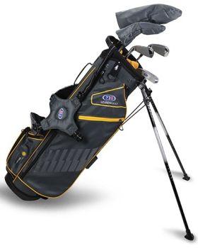 US Kids 2020 UL63-S 5-Club Stand Bag Set All Graphite - Grey/Gold