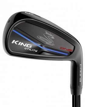Cobra King Utility One Black 3-4* Iron Graphite Stiff Flex Shaft