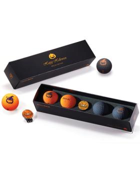 Volvik Vivid Halloween Pack Special Edition Golf Ball & Ball Marker Set