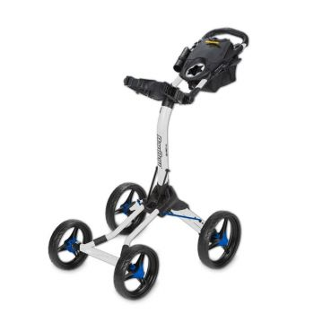 BagBoy Quad XL Push Cart - White/Cobalt