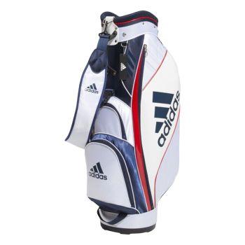 Adidas Golf Caddie Bag - White / Collegiate Navy