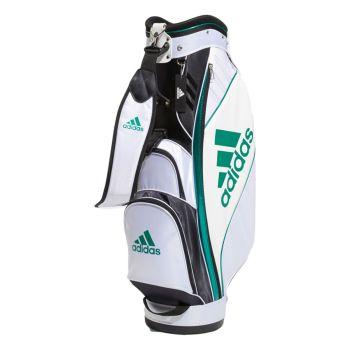 Adidas Golf Caddie Bag - White / Sub-Green