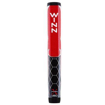 "Winn Pro X 1.60"" Putter Golf Grip - Red/Black"