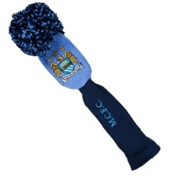PREMIER LICENSING MANCHESTER CITY POMPOM DRIVER HEADCOVER