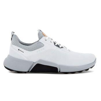 Ecco Men's Biom H4 Golf Shoes - White Concrete Dritton