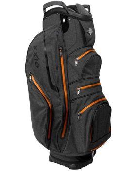 XXIO Premium Cart Bag - Black/Orange