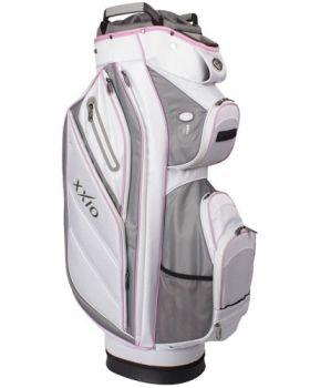 XXIO Hybrid Cart Bag - White/Grey/Pink