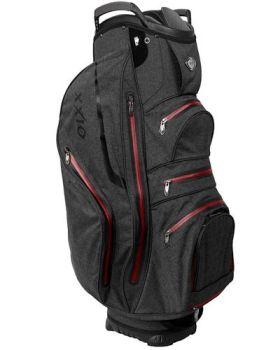 XXIO Premium Cart Bag - Black/Red