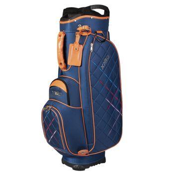 XXIO Premium Lady Cart Bag - White/Navy/Orange
